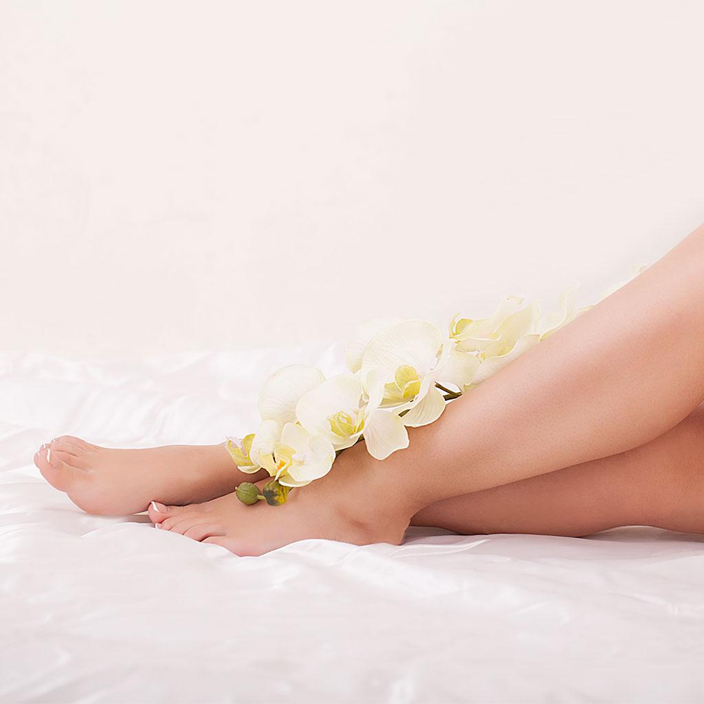 Photo de jambes douces